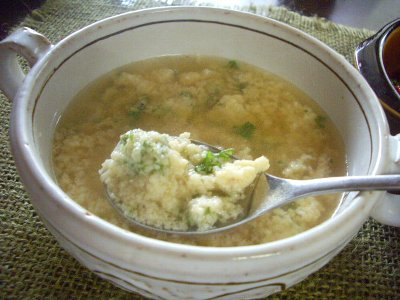 パン粉のスープ400