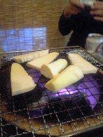 筍炭火焼き
