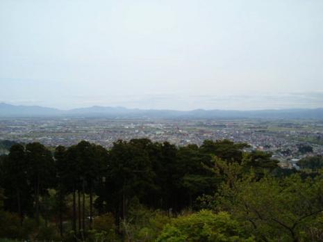 春日山からの眺め
