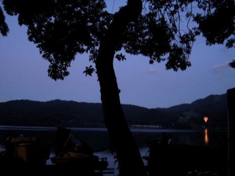 青木湖~夜