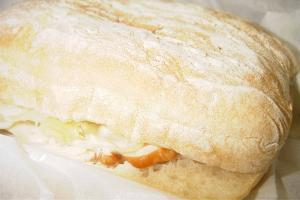 チキンシーザー&アスパラサンドイッチ