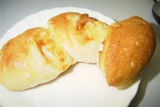 ベーコンのパン