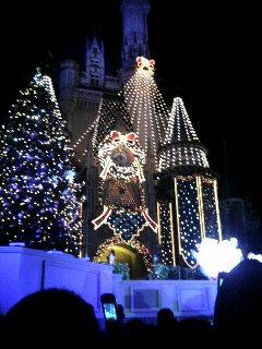 クリスマスシンデレラ城
