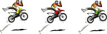 オフロードバイクステッカー