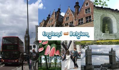 イングランド&ベルギー