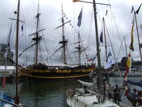 海洋フェスティバル船