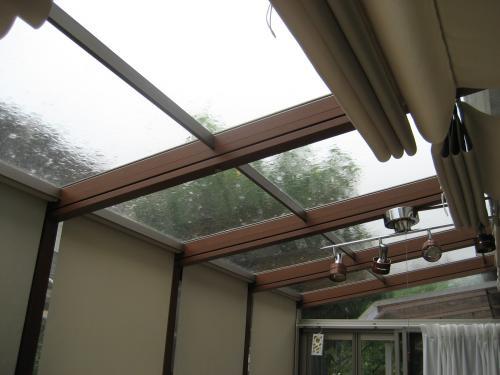 サンルームの屋根