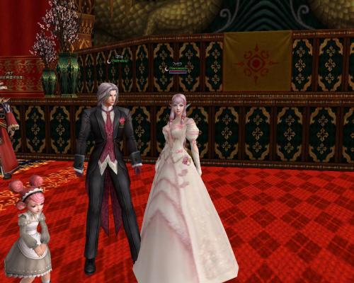 結婚式後2