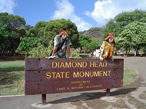 ダイヤモンドヘッドモニュメント