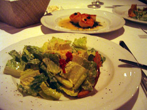 ハレクラニ オーキッドディナー サラダ