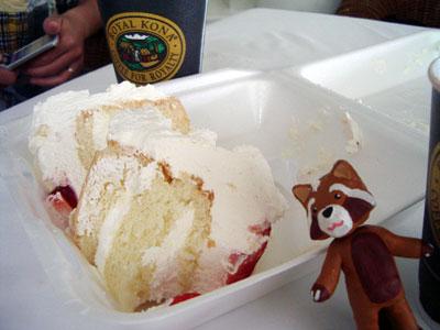 ハワイ地震 非常食はウエディングケーキ