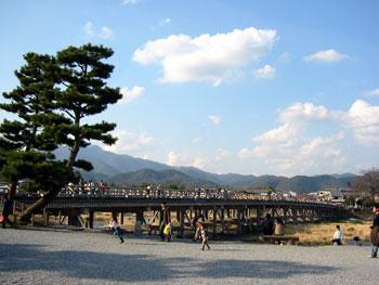 嵐山 渡月橋西