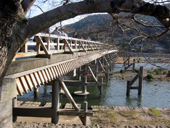 嵐山 渡月橋北