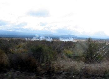マウナケア山頂 星空観測ツアーレポ 米軍演習 噴煙