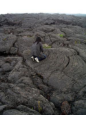 マウナケア山頂 星空観測ツアーレポ 溶岩に夢中のはんこ