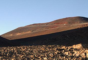 マウナケア山頂 星空観測ツアーレポ 山頂付近
