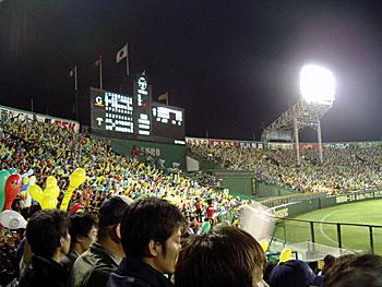 5月10日甲子園阪神巨人戦スタンド