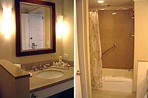 モアナサーフライダーお風呂と洗面所
