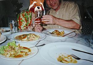 最後の晩餐 父娘