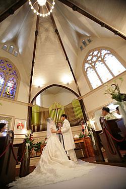 挙式本番結婚の誓い