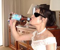 ホテル撮影ビール