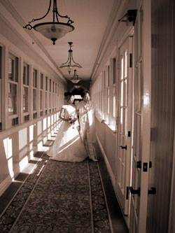 ホテル撮影6階回廊