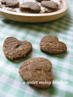 はったい粉のクッキー