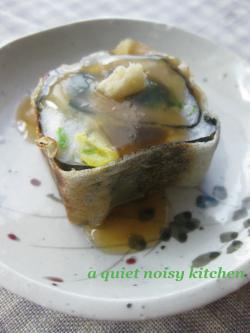 里芋の春巻きロール2
