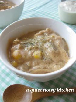 豆乳ヨーグルトでサワークリームスープ