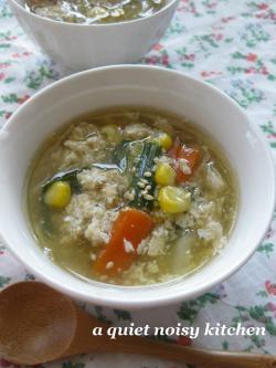 ニラ玉スープ2