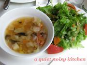 ランチセット・サラダ&スープ