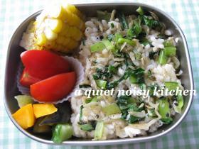夏野菜満載弁当