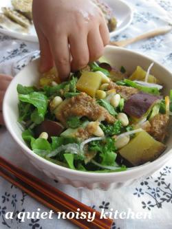 さつま松の実サラダ・別の日2