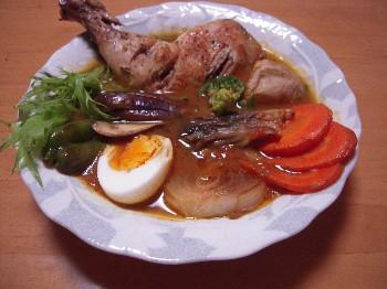 チキンと野菜