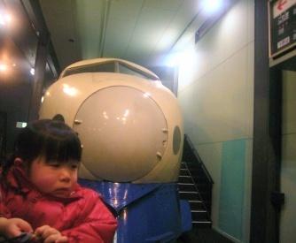 優花と交通科学館3