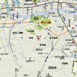 皿ヶ峰地図
