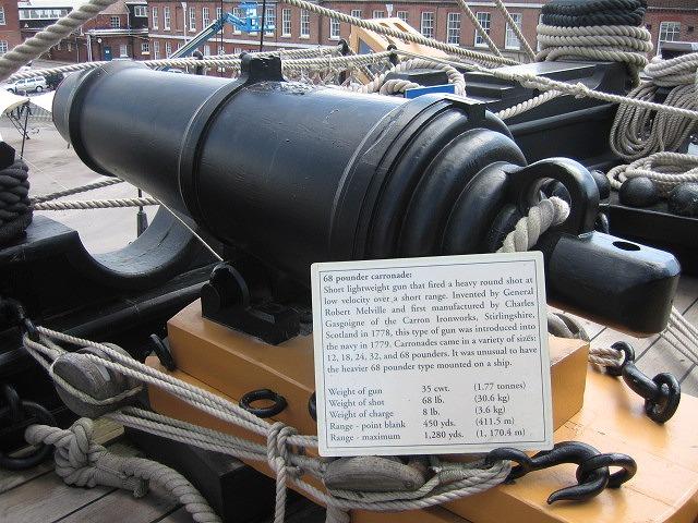 大砲68ポンド砲