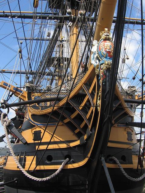 HMS Victory 艦首