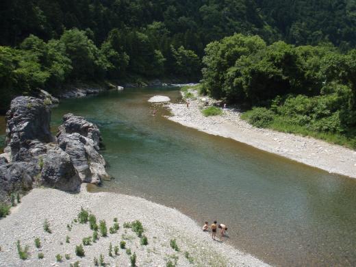 川遊び8板取川