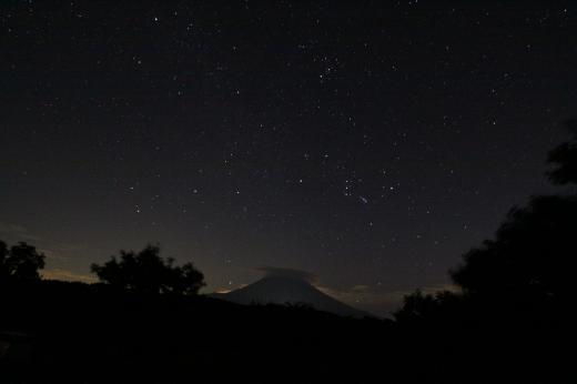 朝霧9・17 夜空