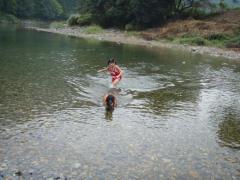 川遊び25 子供1