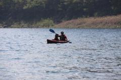 本栖湖9・17 父とラン3