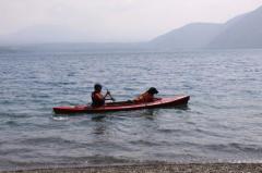 本栖湖9・17 父とラン2