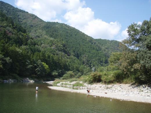 川遊び26 河原
