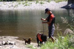 川遊び29 父とミルラン