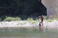 川遊び29 父とラン2