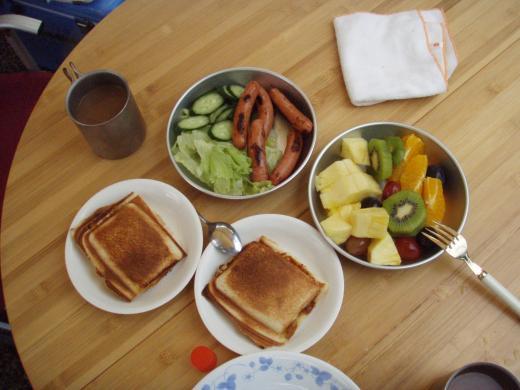 10・17 朝食