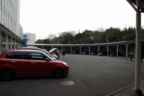 扇形ガレージ