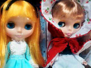 赤頭巾とアリス