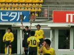 選手交代 山本→指宿 哲ちゃん→仙石